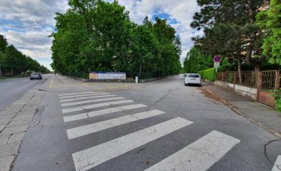 Figyelem! Kedden kezdődik a Szabó Gyula utca járdaszakaszának a felújítása