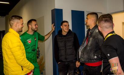 Tomáš Huk és Ľubomír Šatka visszatért a MOL Arénába