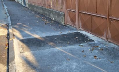 Büntetéssel számolhat, aki felújított út- vagy járdaszakaszt bont fel