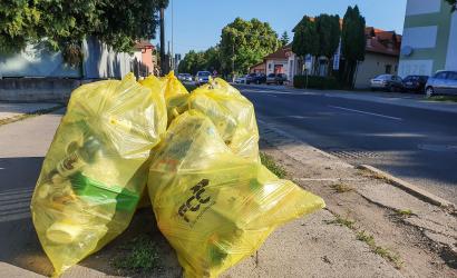 Csütörtökön gyűjtik a műanyag hulladékot