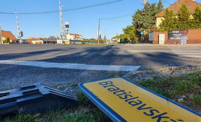 Mától kezdődik a Vasút utca felújítása