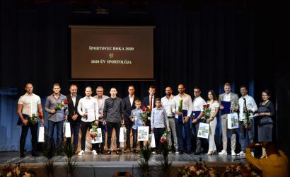 A tavalyi év legkiemelkedőbb dunaszerdahelyi sportolóit díjazták