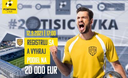 Vasárnap a félidőben újra 20 ezer euró lesz a tét!