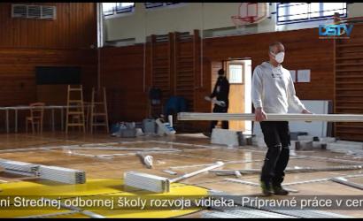 Embedded thumbnail for Nagy kapacitású oltóközpont kezdi meg működését Dunaszerdahelyen