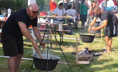 Embedded thumbnail for A termálfürdőben és Sikabonyban is a főzés volt a középpontban