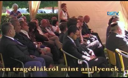 Embedded thumbnail for Szlovákia egyetlen roma holokauszt emlékművénél tartottak megemlékezést