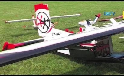 Embedded thumbnail for A helyi repülőmodellező klub egykori tagjára emlékeztek a társak