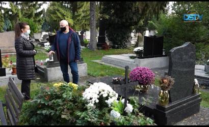 Embedded thumbnail for Egykori neves dunaszerdahelyiek síremlékét kerestük fel az ünnepek előtt