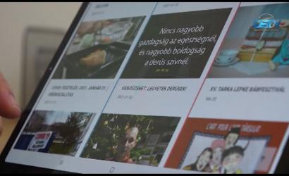 Embedded thumbnail for Megújult az ötéves városi hírportál
