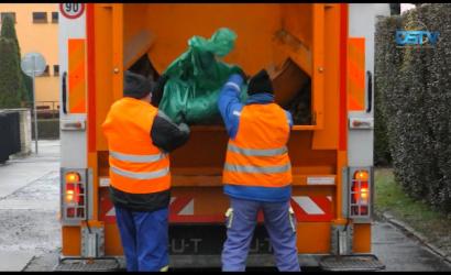 Embedded thumbnail for Véget ért a kerti hulladék gyűjtése, jövőre zsákok helyett konténerek