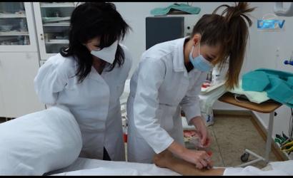 Embedded thumbnail for Több diákot vehet fel az egészségügyi iskola