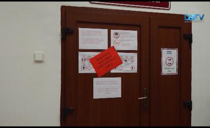 Embedded thumbnail for A koronavírus miatt újra be kellett zárni a könyvtárat