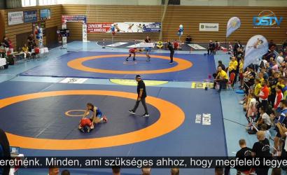 Embedded thumbnail for A dunaszerdahelyi birkózók nagyszerűen szerepeltek a rangos versenyen