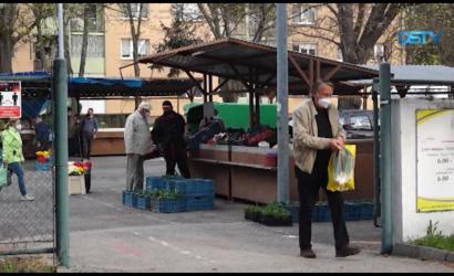 Embedded thumbnail for A nyitás után lassan, de biztosan éledezik a városi piac