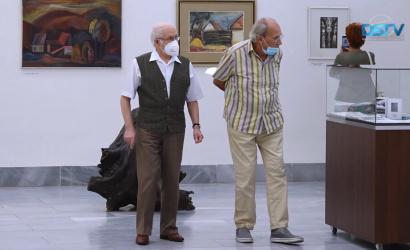 Embedded thumbnail for A múzeum kiállítási csarnokának 35 évét idézték fel