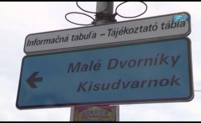 Embedded thumbnail for Kétnyelvű közlekedési-információs táblák jelentek meg Dunaszerdahelyen