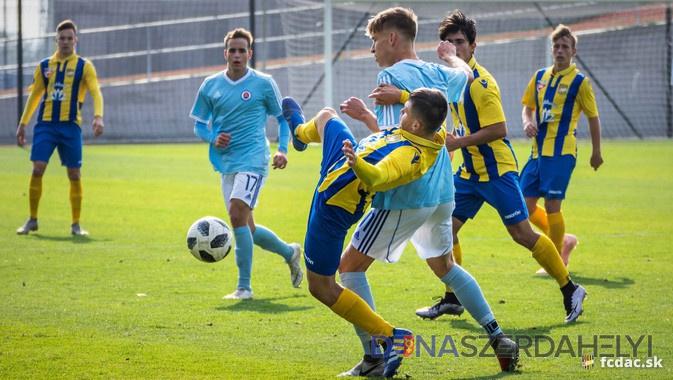 U19: Slovan - DAC 2:1 (1:0)