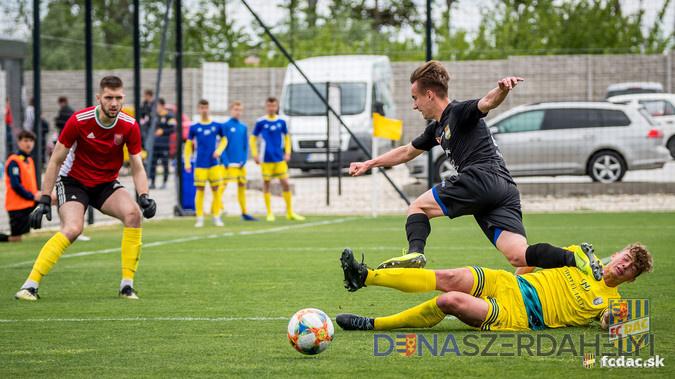 U19: DAC - Nagymihály 1:1 (1:0)