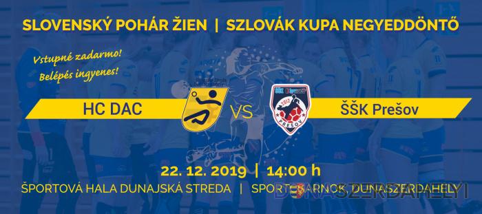 Vasárnap Szlovák kupa negyeddöntő