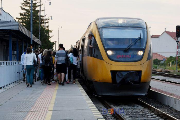 Növekszik a vonatokon az ülőhelyek száma