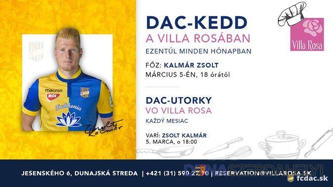 DAC-kedd a Villa Rosában!
