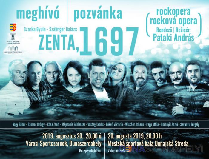 Augusztus 20-án Zenta 1697 rockopera Dunaszerdahelyen