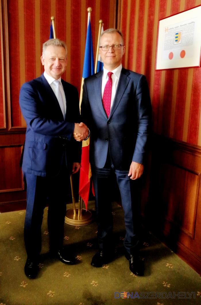 A lengyel nagykövet járt Dunaszerdahelyen