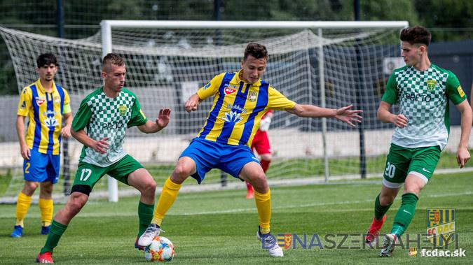 U19: DAC - Zsolna 2:0 (1:0)
