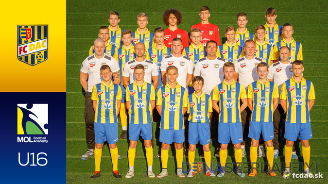 2018/19-es szezon: DAC U16