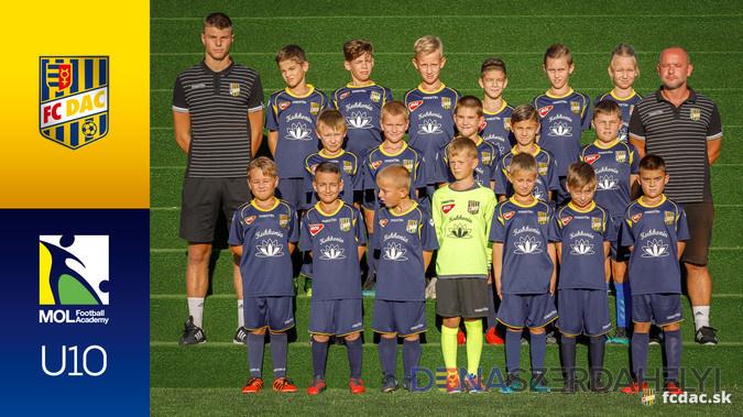 A 2018/19-es szezon: DAC U10
