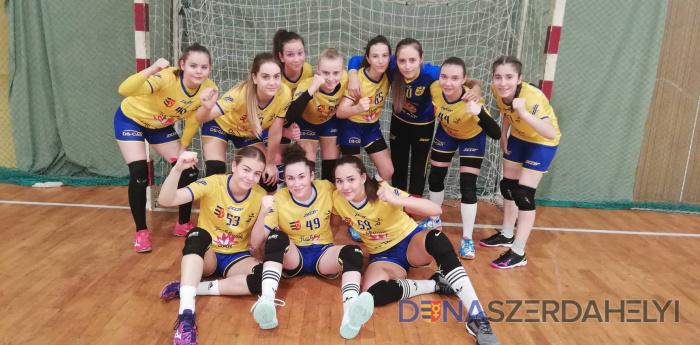 Az U14B korosztályos csapat az országos döntőben