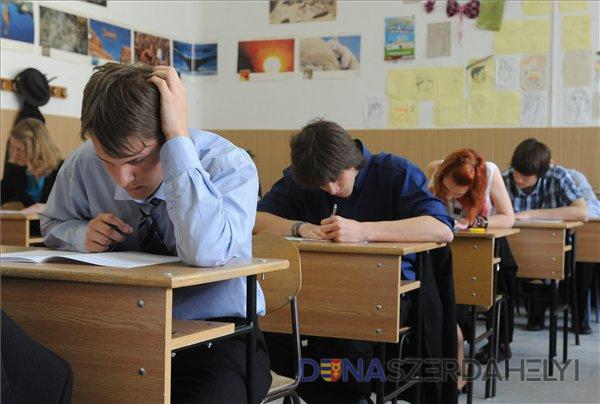 Az írásbeli érettségi vizsgák hete kezdődött