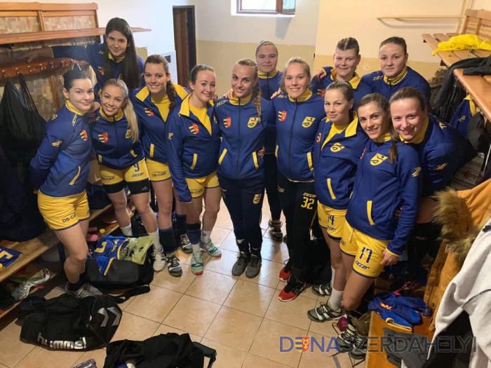 Egy góllal nyertek a kézis lányok a rangadón