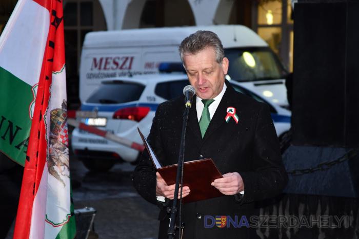 Hájos Zoltán ünnepi köszöntője