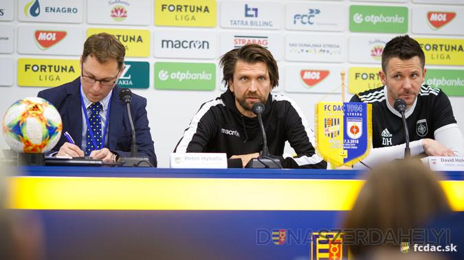 Edzői értékelés az FC DAC 1904 - MFK Rózsahegy (1:1) mérkőzés után