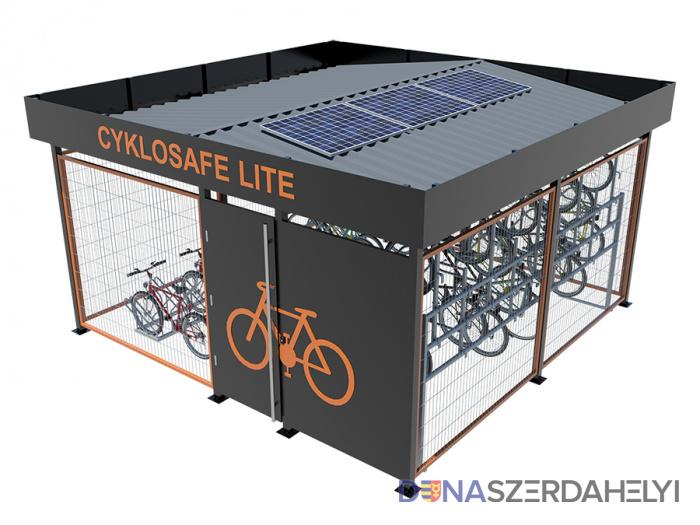 Kerékpártárolókat helyeznek ki a városban