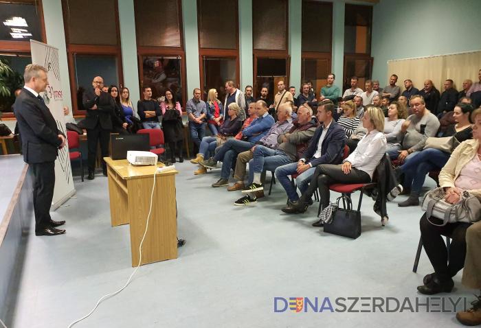 Dunaszerdahelyen is nagy az érdeklődés a Baross gazdaságélénkítő program iránt