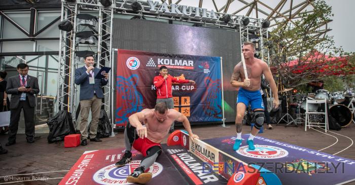 Kitanovič Attila sikeres szereplése Oroszországban