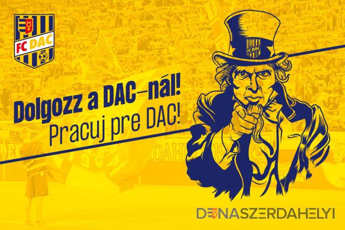 Erősítsd a DAC marketingcsapatát!