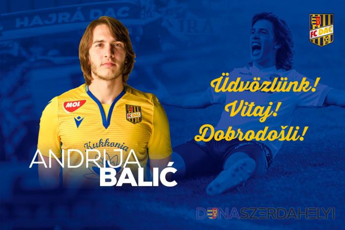 Andrija Balić érkezik az Udinesetől