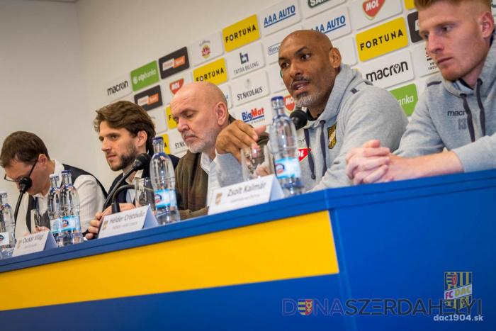 A DAC sajtótájékoztatója a Fortuna liga 2020-as tavaszi idénye előtt