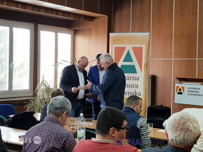 A magyar gazdatársadalom összefogásának eredményét jutalmazták Dunaszerdahelyen