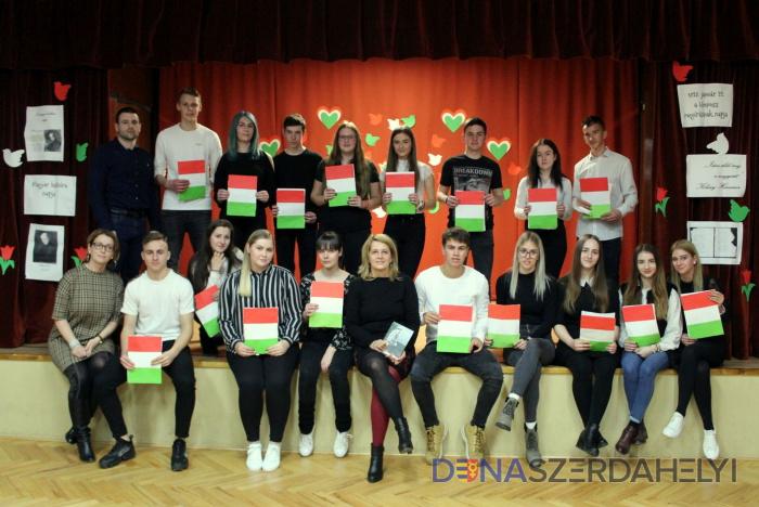 A Magyar Kultúra Napja a Vidékfejlesztési Sazkközépiskolában