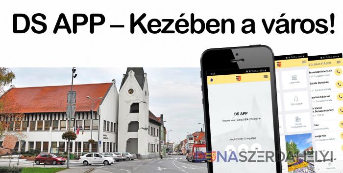 DS APP – Kezében a város!