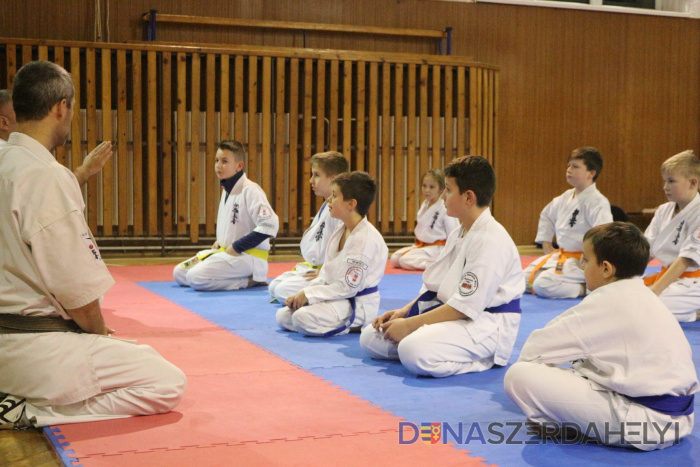Edzőtáborral indította az évet a Seishin Karate Klub