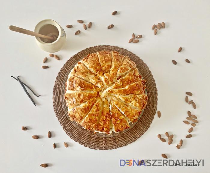 Méhcsípés torta (Bienenstich)