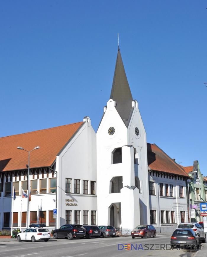A Dunaszerdahelyi Városi Hivatal értesítése