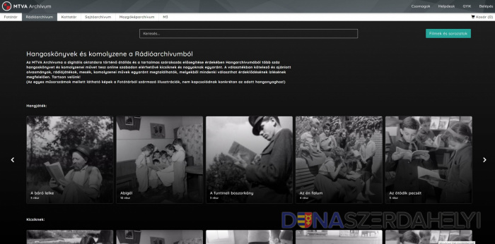 Hangoskönyvek és komolyzene a Magyar Rádió archívumból