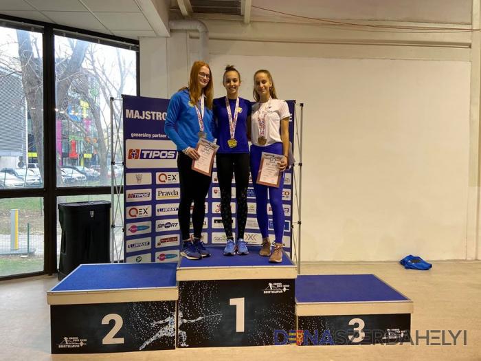 Ismét junior szlovák bajnok lett Vodnyánszka Renáta