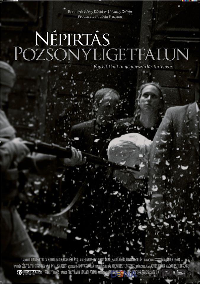 Népirtás Pozsonyligetfalun – Dunaszerdahelyen is bemutatják a dokumentumfilmet